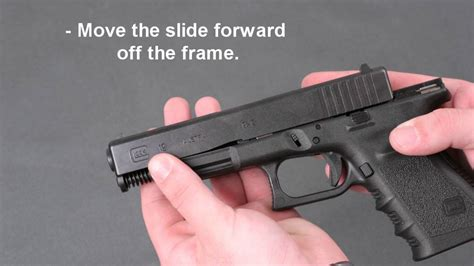 Glock-Question How To Take Aprt A Glock 19.