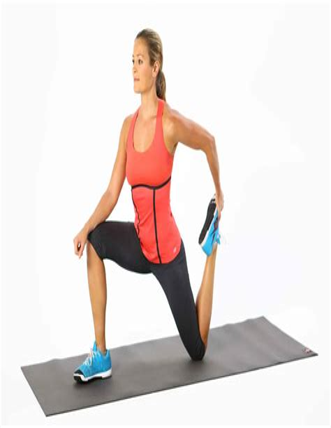 how to treat hip flexor tendonitis stretches for shin