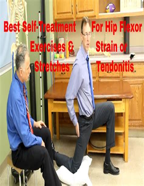 how to treat hip flexor tendonitis stretches wrist