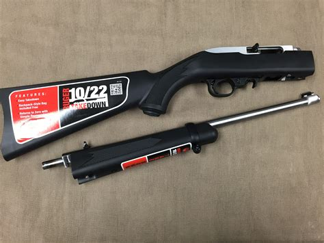 Ruger-Question How To Turn Ruger 10 22 Take Down.