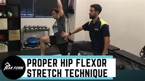 how to work hip flexors at chiropractors in san antonio