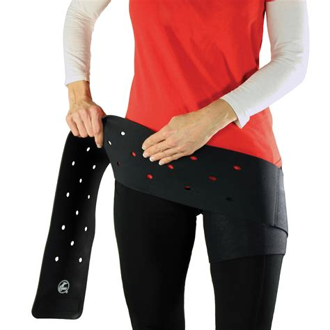 how to wrap a hip flexor injury after hip replacement
