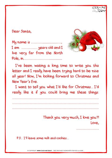 Santa letter writing template large metal letters for wall santa letter writing template how to write a letter to santa claus with sample letter spiritdancerdesigns Image collections