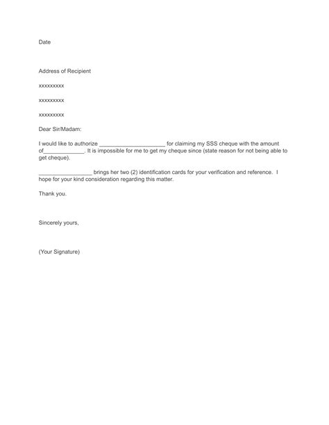 Credit Card Authorization Release Form Template How To Write An Authorization Letter Sss Loan