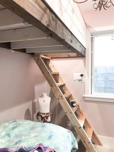 How To Build A Bed Loft