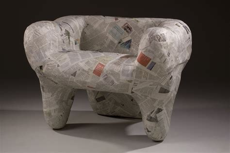 How To Build A Chair Out Of Newspaper And Masking Tape