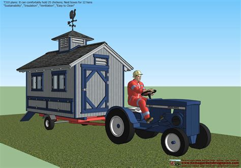 How To Build A Chicken Coop On A Trailer