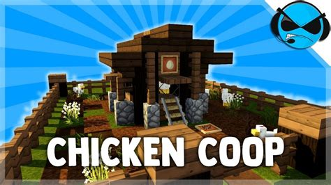 How To Build A Chicken House On Minecraft