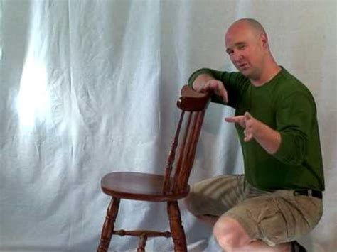 How To Build A Comfortable Chair