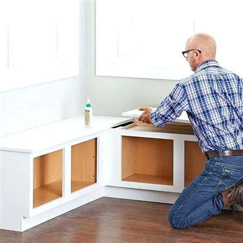 How To Build A Corner Bench Seat With Storage