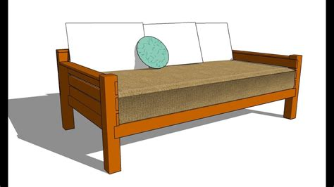 How To Build A Daybed Frame