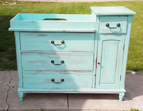 How To Build A Dresser Changing Table