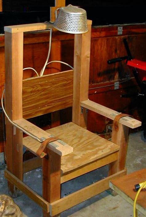 How To Build A Fake Electric Chair