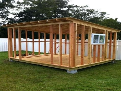 How To Build A Flat Shed Roof