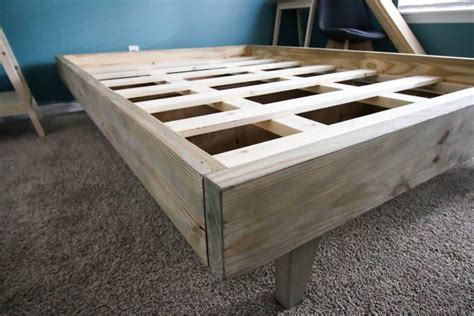 How To Build A Full Size Platform Bed