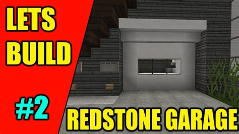 How To Build A Garage In Minecraft Xbox