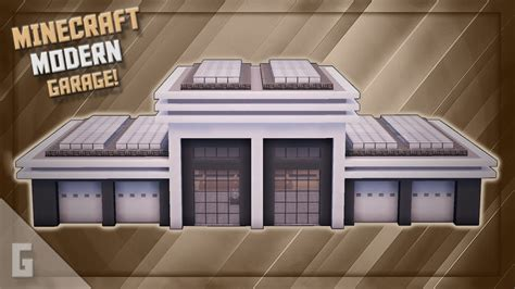 How To Build A Garage On Minecraft