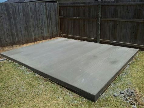How To Build A Garden Shed Slab