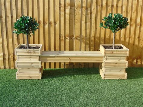 How To Build A Garden Table Bench