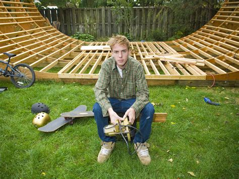 How To Build A Half Pipe