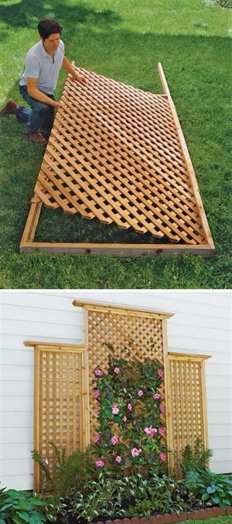 How To Build A Lattice Privacy Fence