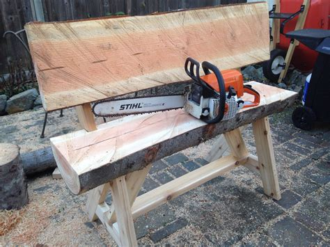 How To Build A Log Bench With A Chainsaw
