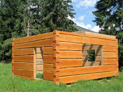 How To Build A Log Shed