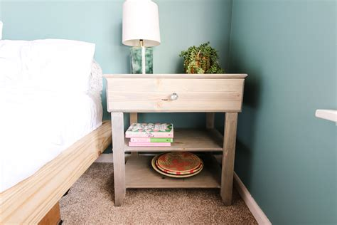How To Build A Nightstand With Drawers