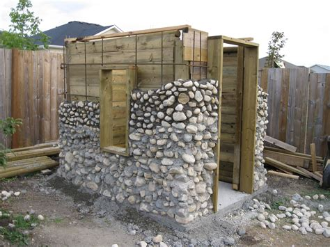 How To Build A Rock Garden Shed