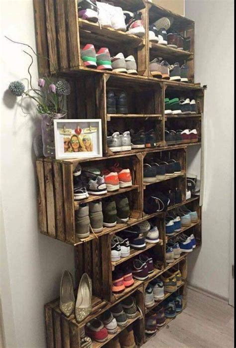 How To Build A Shoe Organizer