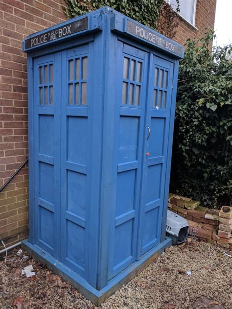 How To Build A Tardis Garden Shed