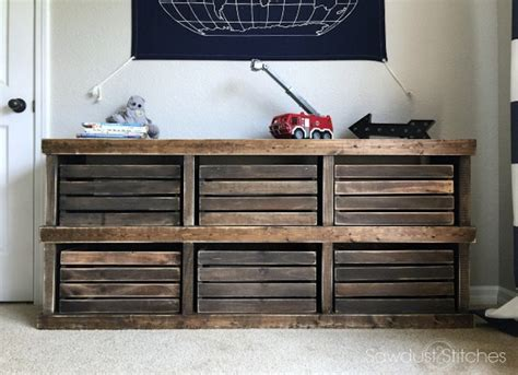 How To Build A Two Drawer Dresser