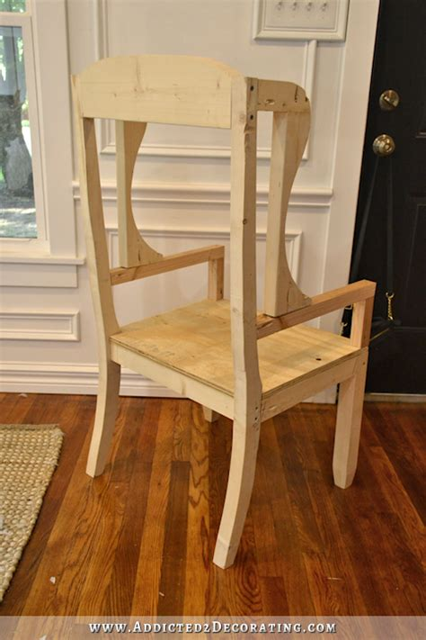 How To Build A Wingback Chair