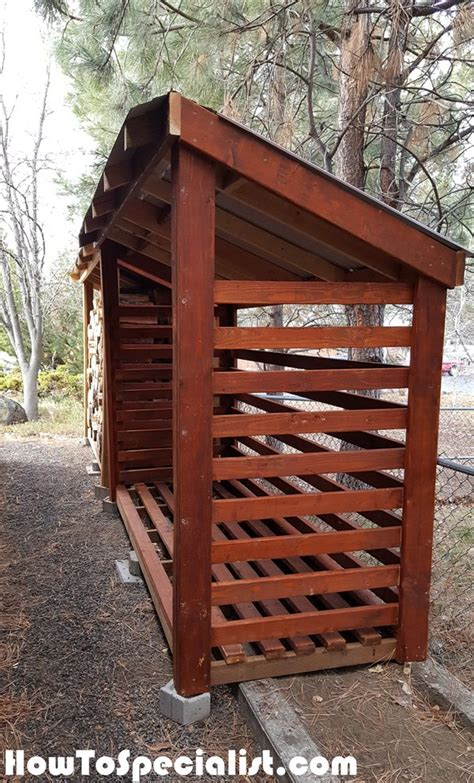 How To Build A Wood Shed Step By Step