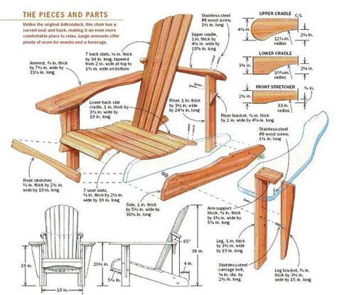 How To Build Adirondack Furniture Plans