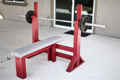 How To Build Bench Press At Home