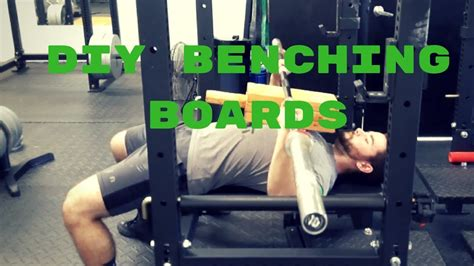 How To Build Bench Press Boards