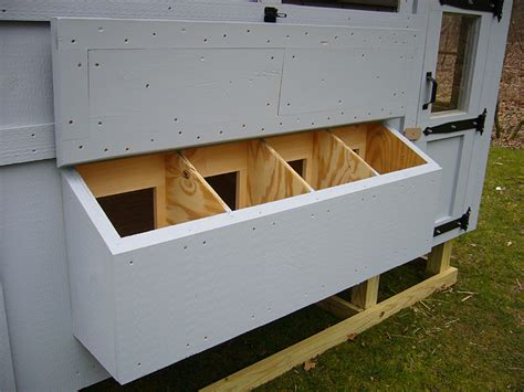 How To Build Chicken Coop Nesting Boxes
