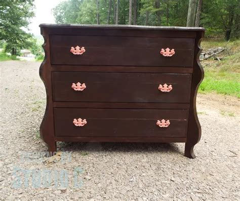 How To Build Curved Dresser