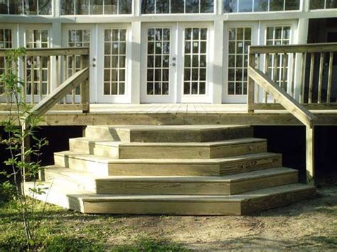 How To Build Deck Wedding Cake Stairs