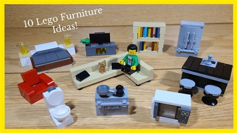 How To Build Easy Lego Furniture