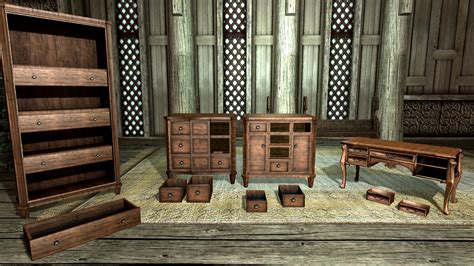 How To Build Furniture In Skyrim