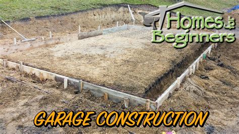 How To Build Garage Pad