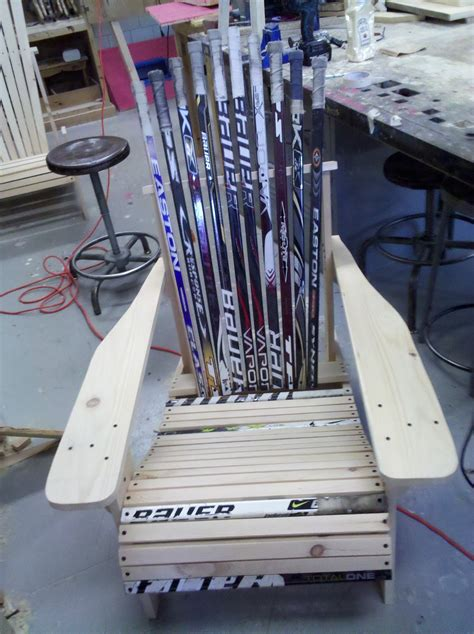 How To Build Hockey Stick Furniture