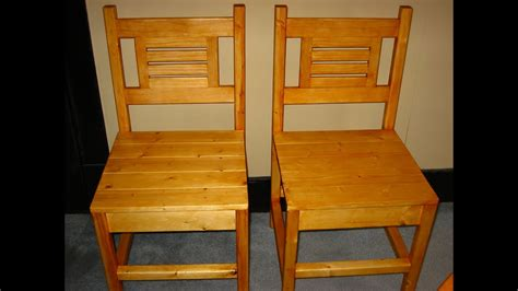 How To Build Kitchen Chairs