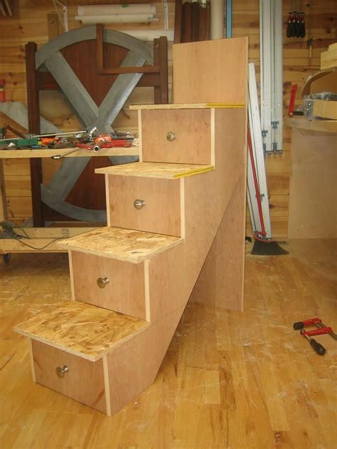 How To Build Loft Bed With Stairs