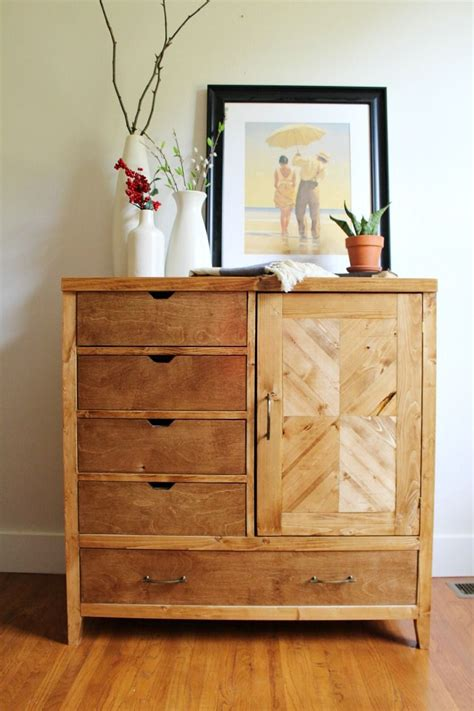 How To Build Modern Dresser