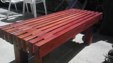 How To Build Redwood Bench