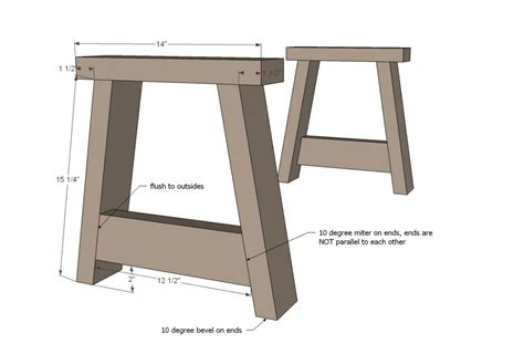 How To Build Rustic Bench