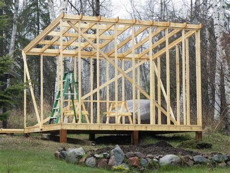 How To Build Skids For A Shed